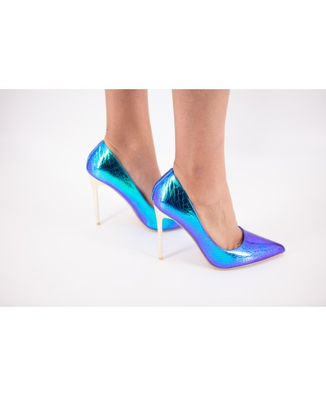 BLUE SIRENE EFFECT CELESTINE PUMPS (LIMITED EDITION)