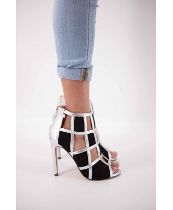 CALEEN SILVER SQUARE-TOED...