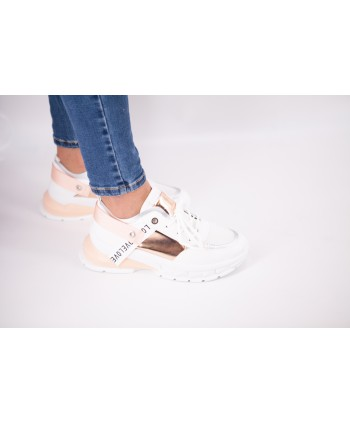 SNEAKERS CHANDRA ROSE ET GOLD