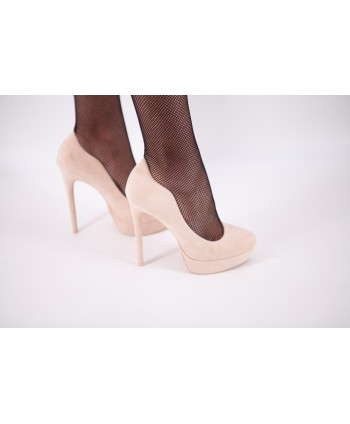 CYRA SUEDE PUMPS WITH NUDE...