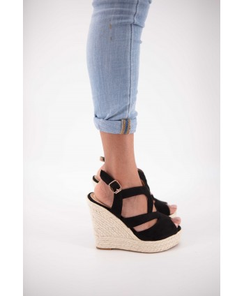 ESPADRILLE COMPENSEE CLEARA...