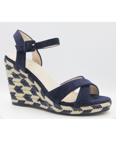 CASEY COMPENSATED ESPADRILLE NAVY BLUE