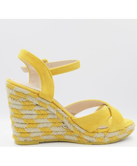 CASEY YELLOW COMPENSATED ESPADRILLE