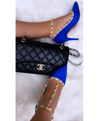 CARALIA STUDDED PUMPS WITH...