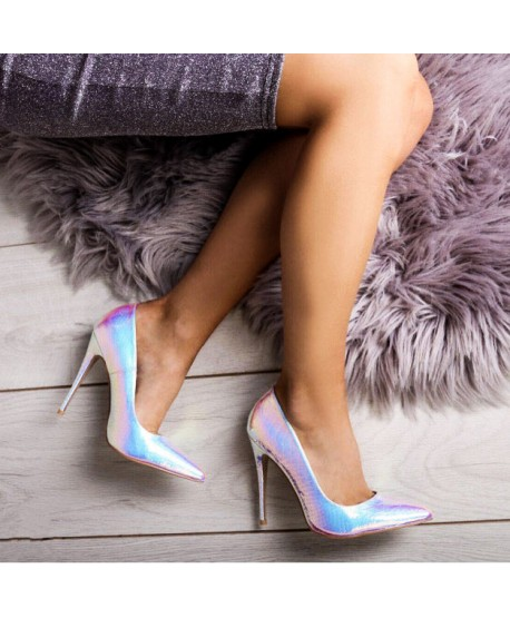 CYBELLIA SIRENE EFFECT PUMP SILVER (LIMITED EDITION)