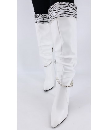 BOTTES BLANCHES INTERIEUR...