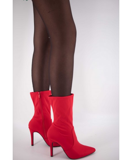 RED TEXTILE BOOT