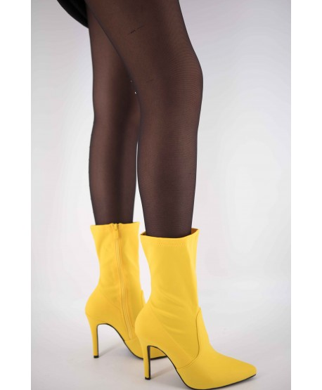 CATHALEYA YELLOW TEXTILE BOOT